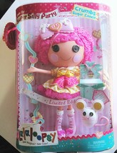 Lalaloopsy Doll Crumbs Sugar Cookie Limited Edition Full Size NEW +Brace... - $49.40