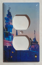 Hong Kong Disney princess castle Light Switch Outlet wall Cover Plate Home Decor image 3