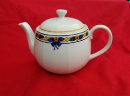 Porcelian Teapot & Lid Sonata byVISTA ALEGRE - $39.60