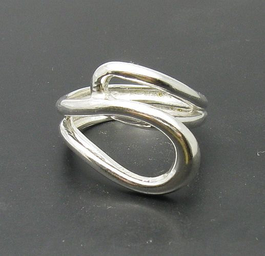Fine Rings Fine Jewellery Stylish sterling silver ring solid 925 R000222 Empress