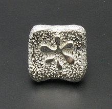 R000719 Sterling Silver Ring Solid 925 Flower - $524,18 MXN