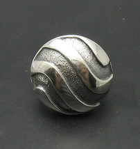 R000725 Stylish STERLING SILVER Ring Solid 925 - $535,71 MXN