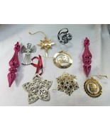 Christmas Tree Ornaments - Lot of 9  - $19.75