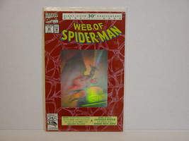 WEB OF SPIDER-MAN #90 - HOLOGRAPHIC COVER - FREE SHIPPING - $9.50