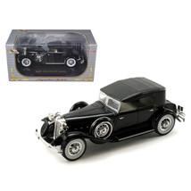 1932 Chrysler Lebaron Black 1/32 Diecast Car Model by Signature Models 3... - $31.21