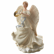 Lenox Heavenly Fanfare Angel Figurine French Horn 2018 Millennium Christmas NEW - $250.00