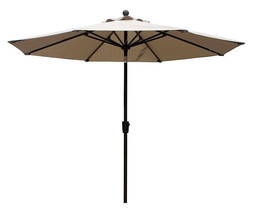9  ft Umbrella  Sesame Beige color  image 1