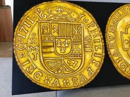 """Painting (Not Coin): Mexico 1711 Royal """"Fleet Shipwreck"""" Escudos Gold Treasure - $35,000.00"""
