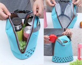 Portable Travel Picnic Outdoor Tote Bag Organizer Insulated Thermal Carr... - $16.78