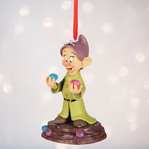Disney Parks Store Dopey Sketchbook Ornament Snow White Dwarfs Diamond Mine - $49.49