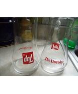 Uncola 7Up Glassses - Vintage Pair - $32.00