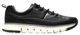 COLE HAAN ZEROGRAND RUGGED OXFORD LEATHER BLACK SIZE 10 NEW WITH BOX (C2... - $119.95