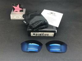 Oakley Flak Jacket 1.0 Ice Iridium Replacement Lenses Kit 13-646 Authentic - $89.99
