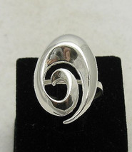 R000806 Stylish Sterling Silver Ring Solid 925 - $12.90