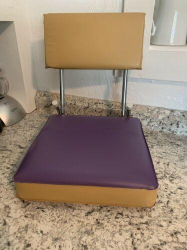 STADIUM seat purple gold cushion bleacher University Of Washington Huskies