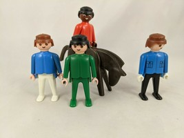 Playmobil Geobra Figures Horse Lot 1974 - $7.95