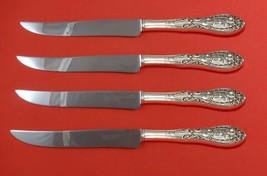 Southern Grandeur by Easterling Sterling Steak Knife Set 4pc Texas Sized Custom - $274.55