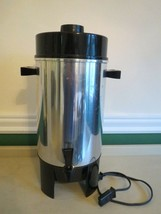 Mid Century Regal 10 to 36 Cup Electric Percolator Coffee Maker Model  #... - $25.25