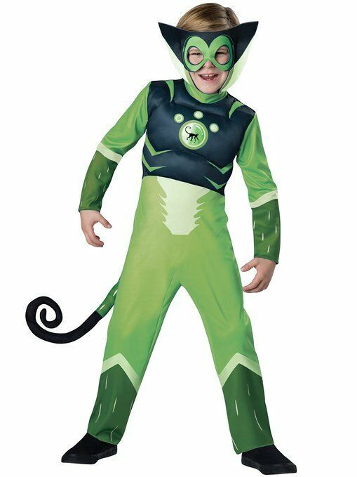 InCharacter Wild Kratts Green Spider Monkey Boys Child Halloween Costume 142110