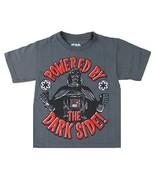Star Wars Boy's Darth Vader Powered By The Dark Side T-Shirt sz 5/6 - $5.89