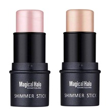COOSA Makeup 2 Color Highlighter Stick Skin Care Shimmer Cream Powder Wa... - $48.14