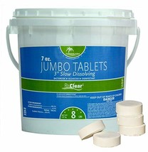 Rx Clear 3-Inch Stabilized Chlorine Tablets | One 8-Pound Bucket | Use A... - $54.84