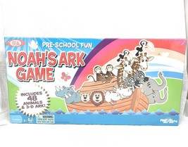 NOAH'S ARK GAME by Ideal - Pre-School Fun Complete with 48 Animals & 3-D... - $28.01