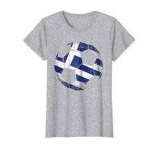 Brother Shirts - Greece Soccer Ball Flag Jersey Shirt - Greek Football G... - $19.95+