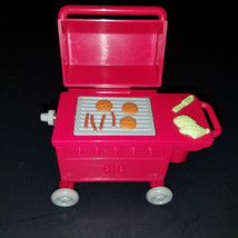 Fisher Price Loving Family BBQ Flip Grill 2002 Accessory Toy - $8.75
