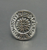 R000781 Sterling Silver Ring Solid 925 Zodiac - $18.00