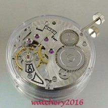Vintage 17 Jewels 6498 Mechanical Hand Winding stainless steel Men's Watch Movem - $81.93