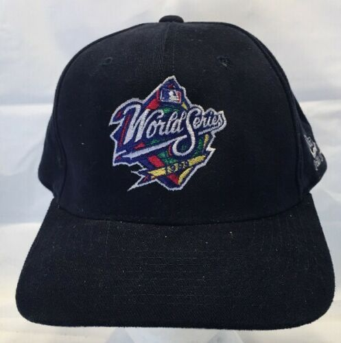 New Era Blue MLB World Series 1999 Baseball Hat SnapBack Yankees Braves (19-6)