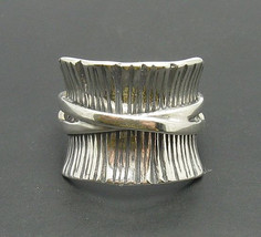 R000666 STERLING SILVER  Ring Solid 925 Band - $374,41 MXN