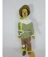 Wizard Of Oz Doll Scarecrow 50th Anniversary 1988  - $14.84