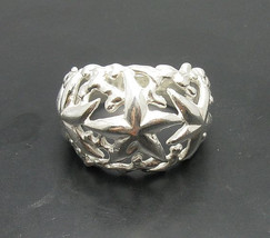 R000890 Stylish STERLING SILVER Ring Solid 925 Sea Star - $414,74 MXN