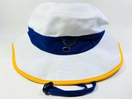 Zephyr Men's St. Louis Blues Centerline Bucket Hat WHITE - $17.81