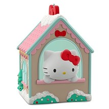 Hello Kitty Gingerbread House Ornament Buildings & Houses - $10.67