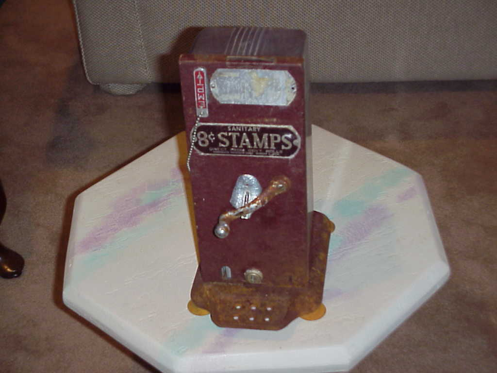 Stamp  old stamp machine  sa3