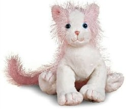 Stuffed Animal Cat Webkins Pink & White Kitty No Tag or Code image 2