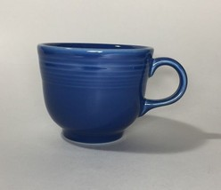 Homer Laughlin Fiesta Blue Flat Cup Mug - $11.97