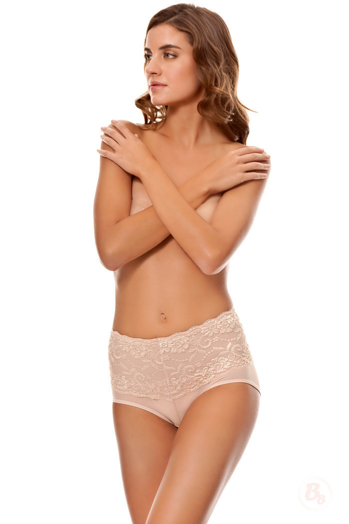 Primary image for Lace Waist Midrise Panty by Bubbles Bodywear - CLEARANCE! Was $36.00, Now $7.99