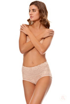 Lace Waist Midrise Panty by Bubbles Bodywear - CLEARANCE! Was $36.00, No... - $7.99