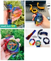 Case For G-Shock Display Parts Rainbow Men GA,GD,100,110,120 With Watch Strap  - $73.99