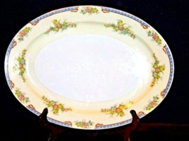 Meita China Large Serving Platter~ Japan Hand Painted AA19-1525 Vintage