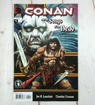 CONAN + SONGS OF THE DEAD #4 Dark Horse Comics 2005 (W) Lansdale (A) Truman - $3.25