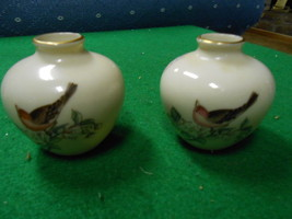 RARE Vintage  Two LENOX Minature Vases ...Made in USA...SALE...-FREE POS... - $18.22
