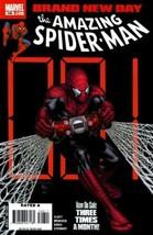 Amazing Spider-Man #548 VF/NM 2008 Marvel Brand New Day Comic Book - $2.93