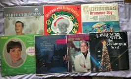 7 Navidad Vinilo LP Record Lote ~ Pat Boone Guy Lombardo Julie Andrews P... - £18.66 GBP