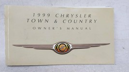 1999 Chrysler Town & Country Owners Manual 52777 - $26.05