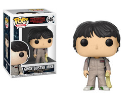 Stranger Things 2nd Season Mike Ghostbusters POP! Figure Toy #546 FUNKO ... - $12.55
